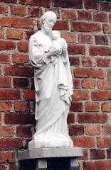 1987 - Statue St Joseph c.jpg